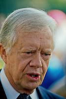 Washington DC., USA, 1993<br /> Former President James (Jimmy) Carter Portrait. Credit: Mark Reinstein/MediaPunch