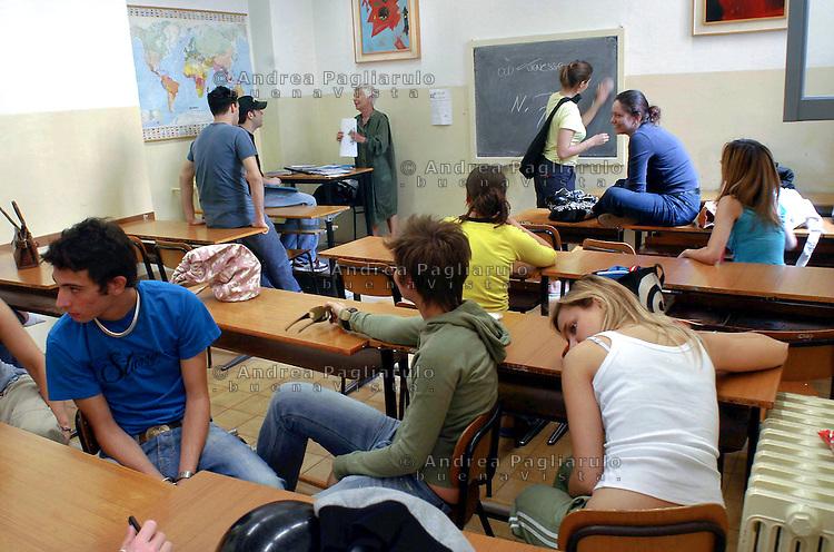 Ultimo giorno di scuola andrea pagliarulo buenavistaphoto for Liceo di moda milano