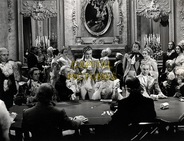 (L to R) C. Aubrey Smith, Tyron Power, Jr., Virginia Field, George Sanders.in Marie Antoinette .*Filmstill - Editorial Use Only*.CAP/PLF.Supplied by Capital Pictures.
