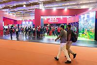 SÃO PAULO, SP, 09.10.2019 - BGS - Público durante a Brasil Game Show no Expo Center Norte no bairro da Vila Guilherme, na região norte da cidade de São Paulo nesta quarta-feira, 09. (Foto: Anderson Lira/Brazil Photo Press)