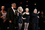 """Christie Brinkley kicks off her third run as """"Roxie Hart"""" in CHICAGO on Broadway with R. Lowe, Tom Hewitt, Amra-Faye Wright, Raymond Bokhour and NaTasha Yvette Williams at the the Ambassador on April 18, 2019 in New York City."""