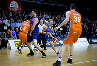 Kyle Adnam (Giants) in action during the national basketball league semifinal match between Nelson Giants and Southland Sharks at TSB Bank Arena in Wellington, New Zealand on Saturday, 4 August 2018. Photo: Dave Lintott / lintottphoto.co.nz