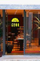 restaurant les 5 sens avignon rhone france