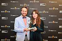 Picture by Simon Wilkinson/SWpix.com 01/122019 -  Rose d'Or 2019 Award Ceremony, red carpet arrivals and winners. Kings Place, London<br /> - SOCIAL MEDIA VIDEO SERIES<br /> SWIPE<br /> NPO 3, VERTOV, KRO-NCRV – HOLLAND