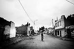 Earthquake aftermath, .Pisco Peru.....