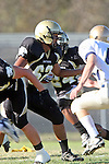 Palos Verdes, CA 10/02/09 - The Vista Murietta Broncos visited the Peninsula Panthers in a non-league contest, won 43-21 by Vista Murietta.  In action are Brian Jeon (#62)