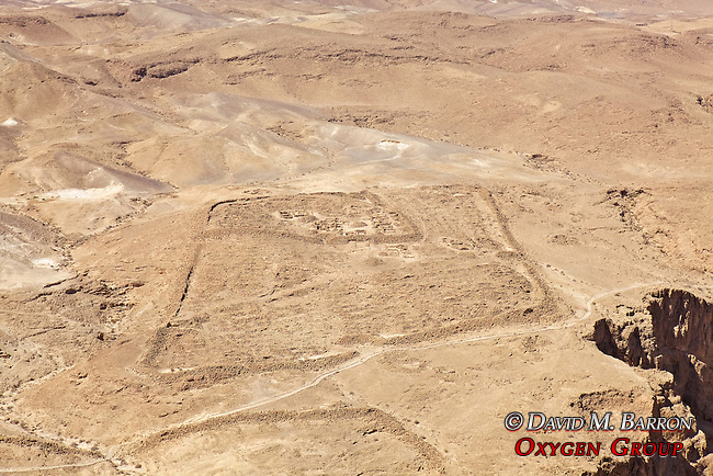 Legionary Camps At Masada