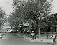 1963 October 16..Assisted Housing.Roberts Village...CAPTION..HAYCOX PHOTORAMIC INC..NEG# C63-743-1.NRHA# 3532..