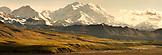 USA, Alaska, view Mount McKinley and the Denali Range, Denali National Park