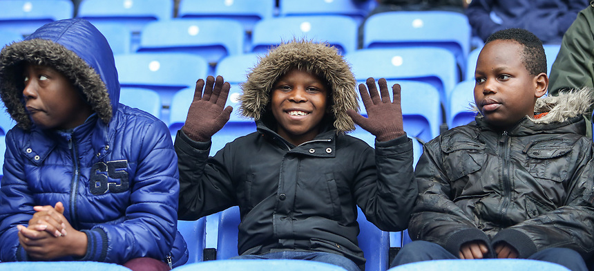 A Bolton Wanderers fan enjoys the pre-match atmosphere<br /> <br /> Photographer Alex Dodd/CameraSport<br /> <br /> The EFL Sky Bet League One - Bolton Wanderers v Northampton Town - Saturday 18th March 2017 - Macron Stadium - Bolton<br /> <br /> World Copyright &copy; 2017 CameraSport. All rights reserved. 43 Linden Ave. Countesthorpe. Leicester. England. LE8 5PG - Tel: +44 (0) 116 277 4147 - admin@camerasport.com - www.camerasport.com