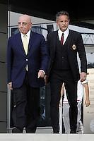Adriano Galliani, Sinisa Mihajlovic <br /> Milano 10-09-2015 <br /> Milan Presentazione Ufficiale della squadra ai tifosi. Official presentation of AC Milan Football Calcio 2015/2015  - foto Daniele Buffa/Image Sport/Insidefoto