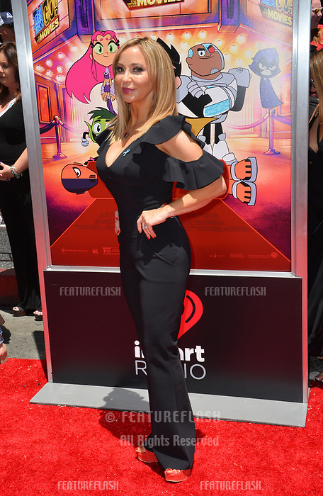 Tara Strong at the premiere for &quot;Teen Titans Go! to the Movies&quot; at the TCL Chinese Theatre, Los Angeles, USA 22 July 2018<br /> Picture: Paul Smith/Featureflash/SilverHub 0208 004 5359 sales@silverhubmedia.com