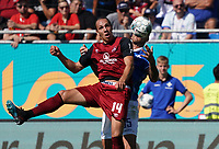 Michael Frey (1. FC Nürnberg) - 15.09.2019: SV Darmstadt 98 vs. 1. FC Nürnberg, Stadion am Boellenfalltor, 6. Spieltag 2. Bundesliga<br /> DISCLAIMER: <br /> DFL regulations prohibit any use of photographs as image sequences and/or quasi-video.