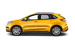 Car Driver side profile view of a 2017 Ford Edge Sport-4wd 5 Door Suv Side View