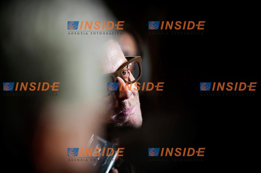 """Lapo Elkann risponde alle domande dei giornalisti.Inaugurazione della mostra """"Le auto dell'Avvocato"""" al Museo dell'Auto di Torino.Torino 12/03/2013 .Foto Insidefoto Giorgio Perottino"""