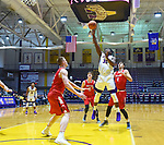 Hartford defeats Albany 72-64 in an America East Conference game on January 03, 2018 at SEFCU Arena in Albany, New York.  (Bob Mayberger/Eclipse Sportswire)