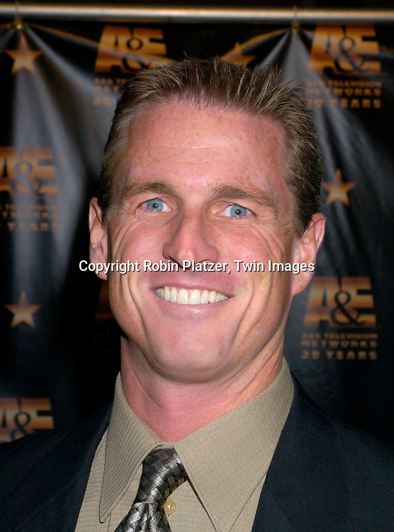 Hunter Ellis..at A & E Television Networks 20th Anniversary Celebration on January 27, 2004 at the Mandarin Oriental Hotel . ..Photo by Robin Platzer, Twin Images