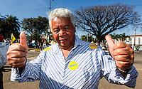 SAO PAULO, SP, 18 DE SETEMBRO 2012 - ELEICOES SP - Roque durante visita ao Parque do Trote no bairro da Vila Guilherme regiao norte da capital paulista nesse sabado FOTO: VANESSA CARVALHO - BRAZIL PHOTO PRESS.