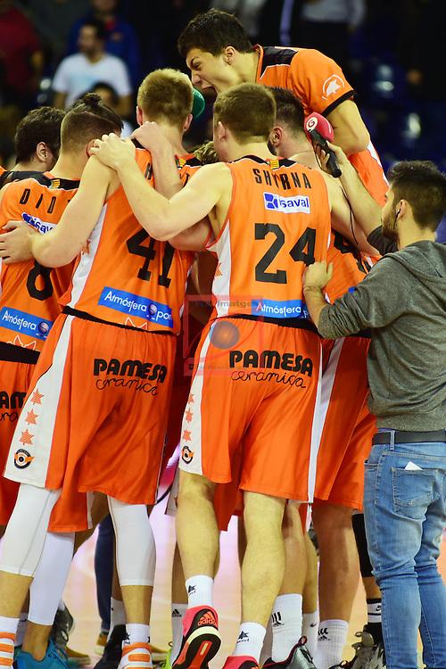 League ACB-ENDESA 2015/2016 - Game: 17.<br /> FC Barcelona Lassa vs Valencia Basket Club: 91-94.