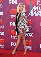 14 March 2019 - Los Angeles, California - Shay Mitchell. 2019 iHeart Radio Music Awards held at Microsoft Theater. Photo Credit: Birdie Thompson/AdMedia
