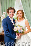 Brid Joy, Killorglin, daughter of Patrick and Breda Joy, and Shane O'Regan, Clonakilty, son of Paddy and Mary O'Regan were married at St. Brendans Curaheen Church Blennerville, by Fr. John O'Donovan on Friday 3rd July 2015 with a reception at Ballyseedy Castle