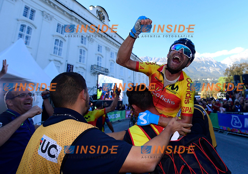 INNSBRUCK, AUSTRIA - SEPTEMBER 30 : VALVERDE Alejandro (ESP) during the Men Elite Road Race (258 km) on day 8 of the 2018 World Road Championship cycling race on September 30, 2018 in Innsbruck, Austria, 30/09/18  ( Photo by Peter De Voecht / Photonews / Panoramic / Insidefoto