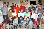 Artists from the 21+Vat art group and teenagers from the KDYS who showed their paintings in the What Mental Health Means to me art exhibition in Ballyspillane Resource Centre, Killarney on Thursday evening front row l-r: Jonathan O'Connell, Saoirse Kelly, Denis McCarthy, Kira Kelliher, Millie Moore-Brew. Middle row: Diarmaid McCarthy, Helen McCarthy, Mai Reidy, Hannah Thomas, Jo Collier. Back row: Ken O'Neill KDYS, Aine Jenkins, Alan Reen, Pia Buckley, Louis Collier, Deirdre O'Sullivan, Harry Cunningham and Michael O'Driscoll.