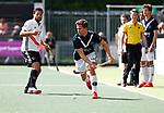 AMSTELVEEN  -   Texas Bukkens (Pinoke) Hoofdklasse hockey heren ,competitie, heren, Amsterdam-Pinoke (3-2)  . COPYRIGHT KOEN SUYK