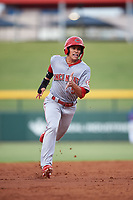 AZL Reds Yan Contreras (51) runs to third base during an Arizona League game against the AZL Cubs 2 on July 23, 2019 at Sloan Park in Mesa, Arizona. AZL Cubs 2 defeated the AZL Reds 5-3. (Zachary Lucy/Four Seam Images)