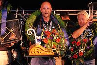 SKÛTSJESILEN: LEMMER: 08-08-2015, IFKS skûtsjesilen, Rutger Boonstra 'Hoop op Welvaart' (Sneek) kleine a klasse, ©foto Martin de Jong