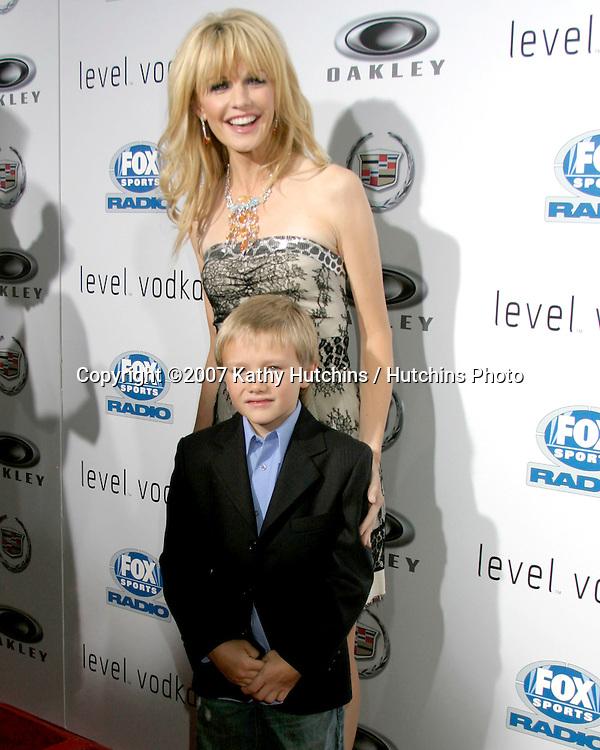 "Kathryn Morris & Dakota Goyo.""Resurrecting The Champ"" Premiere.Beverly Hills,  CA.Aug 22, 2007.©2007 Kathy Hutchins / Hutchins Photo...."