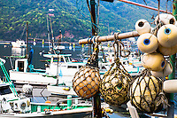Harbor detail, Heda Port, Shizuoka Prefecture,  Izu Peninsula, Japan