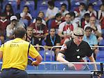 November 15 2011 - Guadalajara, Mexico:   Ian Kent during his Class 8 Gold Medal game at the 2011 Parapan American Games in Guadalajara, Mexico.  Photos: Matthew Murnaghan/Canadian Paralympic Committee
