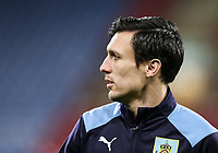 Burnley's Jack Cork before the match<br /> <br /> Photographer Andrew Kearns/CameraSport<br /> <br /> The Premier League - Huddersfield Town v Burnley - Wednesday 2nd January 2019 - John Smith's Stadium - Huddersfield<br /> <br /> World Copyright © 2019 CameraSport. All rights reserved. 43 Linden Ave. Countesthorpe. Leicester. England. LE8 5PG - Tel: +44 (0) 116 277 4147 - admin@camerasport.com - www.camerasport.com