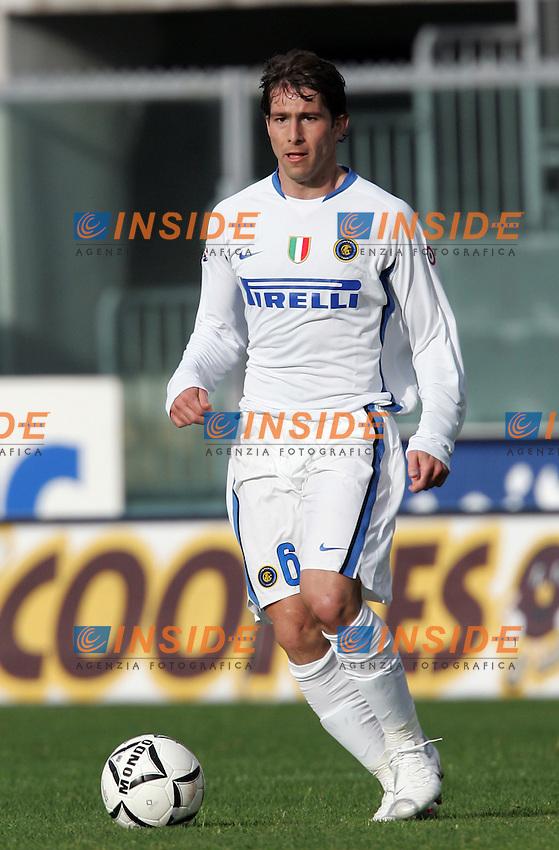 Andrade Maxwell (Inter)<br /> Italian &quot;Serie A&quot; 2006-07<br /> 3 Mar 2007 (Match Day 27)<br /> Livorno-Inter (1-2)<br /> &quot;Armando Picchi&quot;-Stadium-Livorno-Italy<br /> Photographer: Andrea Staccioli INSIDE