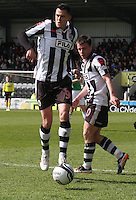 Steven Thompson in the St Mirren v Hibernian Clydesdale Bank Scottish Premier League match played at St Mirren Park, Paisley on 29.4.12.