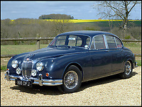 BNPS.co.uk (01202 558833)<br /> Pic: H&amp;H/BNPS<br /> <br /> Sentimental John Pitts has bought his late father's beloved Jaguar car - 46 years after it left the family.<br /> <br /> John, from Devon, spent four years tracking down the 1961 classic motor before snapping it up at auction for &pound;35,000.<br /> <br /> His father, also called John, owned the Mark 2 Jaguar for 10 years until he sold it in 1971.
