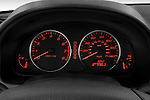 Instrument panel close up detail view of a 2008 Mazda 6 Sport Sedan