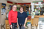 Johnny and Marie Nolan from Lyrecrompane Post office who are hoping some day to pass on their business to their family.