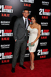 LOS ANGELES, CA - MAR 13: Channing Tatum, Jenna Dewan at the premiere of Columbia Pictures '21 Jump Street' held at Grauman's Chinese Theater on March 13, 2012 in Los Angeles, California