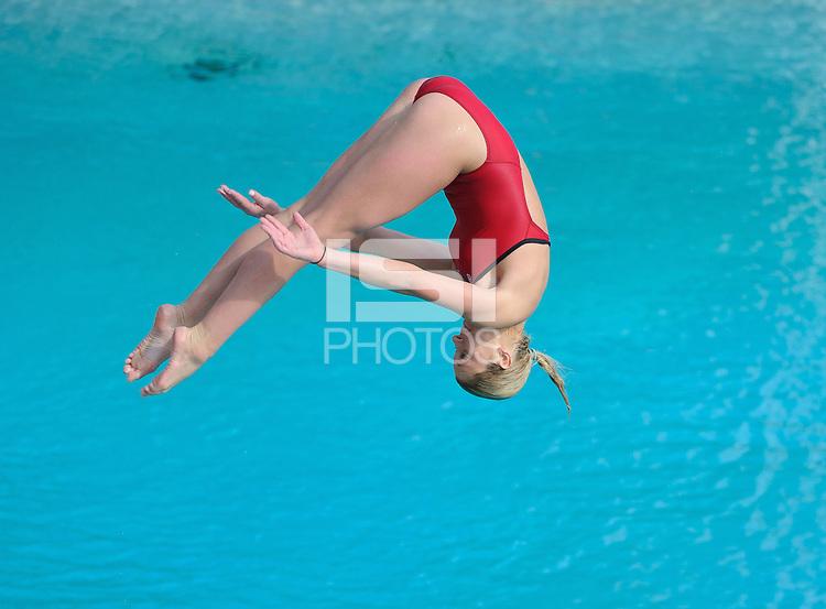 Stanford - California, Saturday, February 2, 2012: Stanford Women's Swim Team 2014 Senior Day.