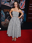 """Karina Smirnoff  arrives for the premiere of Sony Pictures' """"Spider-Man Far From Home"""" held at TCL Chinese Theatre on June 26, 2019 in Hollywood, California"""