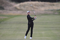Nelly Korda (USA) on the 4th fairway during Round 2 of the Ricoh Women's British Open at Royal Lytham &amp; St. Annes on Friday 3rd August 2018.<br /> Picture:  Thos Caffrey / Golffile<br /> <br /> All photo usage must carry mandatory copyright credit (&copy; Golffile | Thos Caffrey)