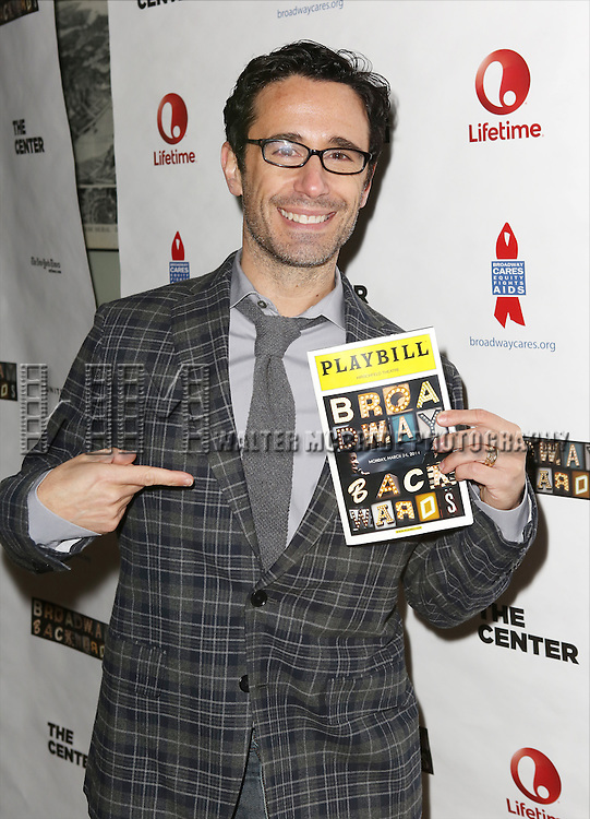 """Christopher Gattelli attends the """"Broadway Backwards"""" After Party Reception  at John's Restaurant on March 24, 2014 in New York City."""