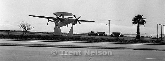AWAC on display at Miramar Naval Air Station.<br />