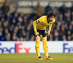 Dortmund's Shinji Kagawa in action during the Europa League match at White Hart Lane Stadium.  Photo credit should read: David Klein/Sportimage