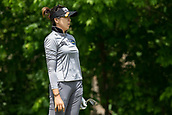 28th May 2017, Ann Arbor, MI, USA;  Mi Jung Hur, of South Korea,  watches her tee shot on the seventh hole during the final round of the LPGA Volvik Championship on May 28, 2017 at Travis Pointe Country Club in Ann Arbor, Michigan.