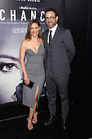 LOS ANGELES, CA - OCTOBER 17: KaDee Strickland, Paul Adelstein attends the premiere of Hulu's 'Chance' at Harmony Gold Theatre on October 17, 2016 in Los Angeles, California. (Credit: Parisa Afsahi/MediaPunch).