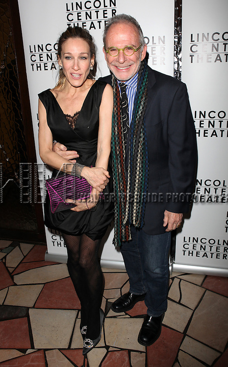 Sarah Jessica Parker & Ron Rifkin.attends the Opening Night After Party for the Lincoln Center production of 'Other Desert Cities' at Josephina Restaurant in New York City.