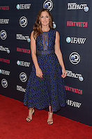 LOS ANGELES, CA - SEPTEMBER 15: Actress Minka Kelly attends the screening of Discovery Impact's 'Huntwatch' at NeueHouse Hollywood on September 15, 2016 in Los Angeles, California. Credit: David Edwards/MediaPunch